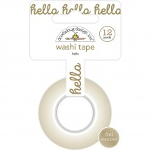 Doodlebug Hello Decorative Washi Tape 5894