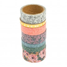 American Crafts Maggie Holmes Market Square Washi Tape Rolls 34003695