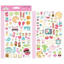 Doodlebug So Punny Mini Icons Cardstock Stickers 5913