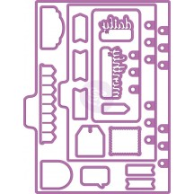 My Prima Planner Shapes 1 Metal Die Set 593285