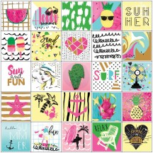 My Prima Planner Summer Stickers 593582