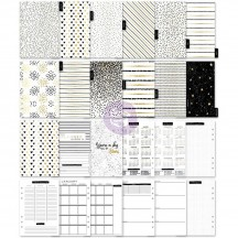 My Prima Planner The Golden Plan A5 Non Dated Planner Inserts 595203