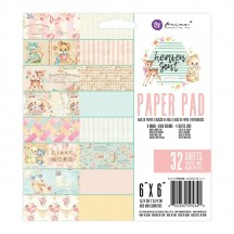 """Prima Marketing Heaven Sent Part 2 6""""x6"""" Double-Sided Paper Pad 32 sheets 595340"""
