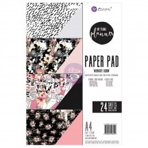 My Prima Planner Midnight Bloom A4 Paper Pad 24 sheets 596521