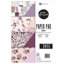 My Prima Planner Enchanted A4 Paper Pad 24 sheets 596545