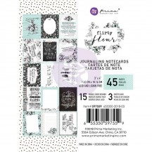 "Prima Flirty Fleur 3""x4"" Journaling Note Card Pad 597559"
