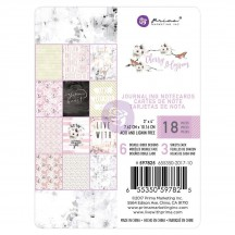 "Prima Marketing Cherry Blossom 3""x4"" Journaling Note Card Pad 597825"
