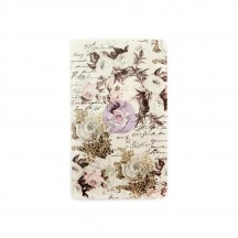 Prima Traveler's Journal Personal Size Notebook Refill - Floral & Script 599881