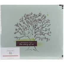"Becky Higgins Project Life 5th & Frolic Tree D-Ring 12""x12"" Scrapbooking Album 93747"