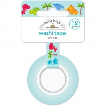 Doodlebug So Much Pun Dino-Mite Decorative Washi Tape 6027