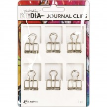 Ranger Dina Wakley Media Small Metal Journal Clips MDA60291