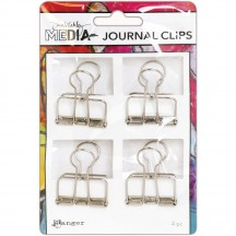 Ranger Dina Wakley Media Large Metal Journal Clips MDA60307
