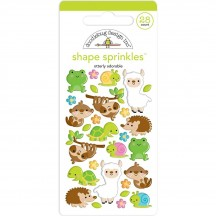 Doodlebug So Much Pun Otterly Adorable Shape Sprinkles Enamel Shapes 6037