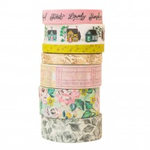 American Crafts Maggie Holmes Garden Party Washi Tape Rolls 34004901