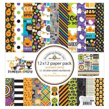 "Doodlebug Pumpkin Party 12""x12"" Halloween Paper Pack 6178"