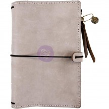Prima Traveler's Journal Leather Essential Personal Size - Warm Stone 630300