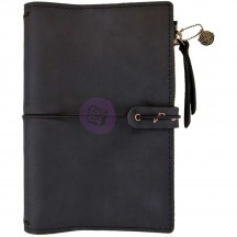 Prima Traveler's Journal Leather Essential Personal Size - Nightfall 630430