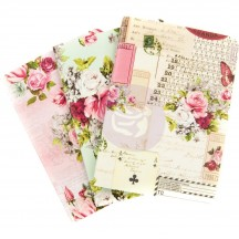 Prima Traveler's Journal Passport Size Notebook Refill Set - Misty Rose 631468