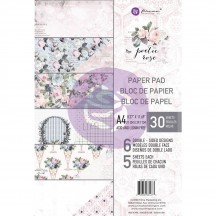 Prima Marketing Poetic Rose A4 Paper Pad 32 sheets 631673