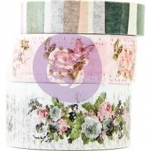 Prima Poetic Rose Decorative Washi Tape Set 631741
