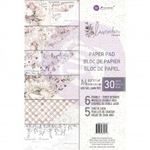 Prima Marketing Lavender Frost A4 Paper Pad 32 sheets 632618