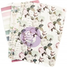 Prima Traveler's Journal Personal B6 Size Notebook Refill Set - Poetic Rose 632977