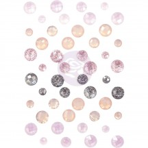 Prima Lavender Frost Say it in Crystals Embellishments 634360