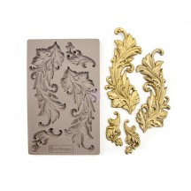"Prima Redesign Baroque Swirls 8""x5"" Decor Mould 635725"