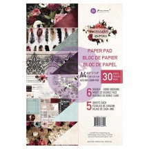 Prima Marketing Midnight Garden A4 Paper Pad 32 sheets 636005