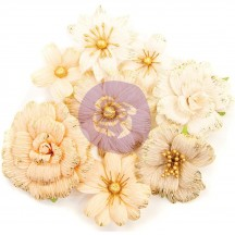 Prima Pretty Pale Honeycomb Flowers 637576