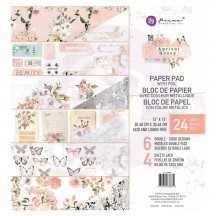 "Prima Apricot Honey 12""x12"" Double-Sided Paper Pad 24 sheets 638870"