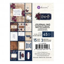 "Prima Darcelle 3""x4"" Journaling Note Card Pad 641993"