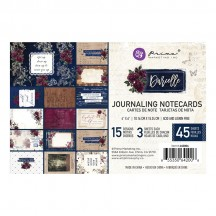 "Prima Darcelle 4""x6"" Journaling Note Card Pad 642006"