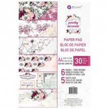 Prima Pretty Mosaic A4 Double-Sided Paper Pad 30 sheets 642181