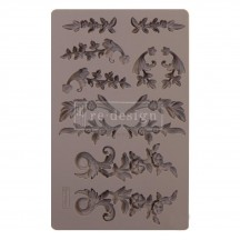 "Prima Redesign Delicate Flora 8""x5"" Decor Mould 643065"