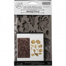 "Prima Redesign Botanist Floral 8""x5"" Decor Mould 643072"