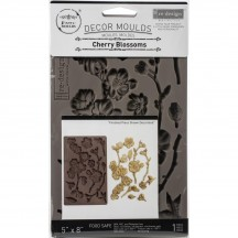 "Prima Redesign Cherry Blossoms 8""x5"" Decor Mould 643126"