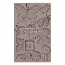 "Prima Redesign Butterfly in Flight 8""x5"" Decor Mould 643140"