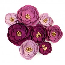 Prima Darcelle Plum Afternoon Flowers 644406