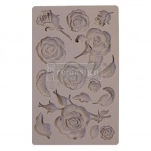 "Prima Redesign Fragrant Roses 8""x5"" Decor Mould 644901"