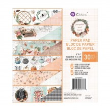 "Prima Pumpkin and Spice 6""x6"" Double-Sided Paper Pad 647773"