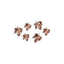 Prima Pumpkin and Spice Leaves Metal Embellishments 647896