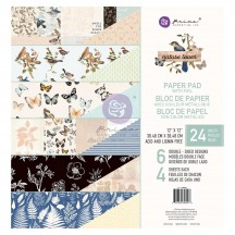 "Prima Nature Lover 12""x12"" Double-Sided Paper Pad 648008"
