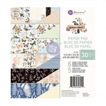 "Prima Nature Lover 6""x6"" Double-Sided Paper Pad 648015"