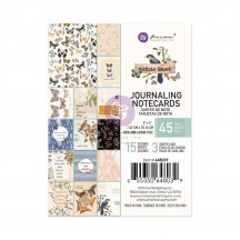 "Prima Nature Lover 3""x4"" Journaling Note Card Pad 648039"