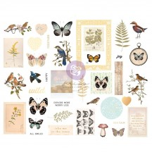 Prima Nature Lover Self Adhesive Chipboard Accent Shape Stickers 648053