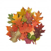 Prima Pumpkin and Spice Fall Leaves Flowers 648367