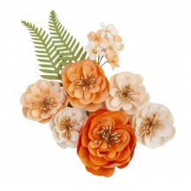 Prima Pumpkin and Spice Together Flowers 648411