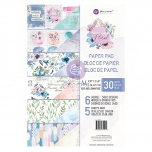 Prima Watercolor Floral A4 Double-Sided Paper Pad 651442