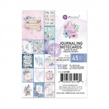 "Prima Watercolor Floral 3""x4"" Journaling Note Card Pad 651480"